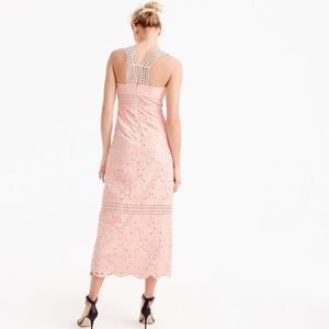 J. Crew Collection Austrian Eyelet in Soft Blossom